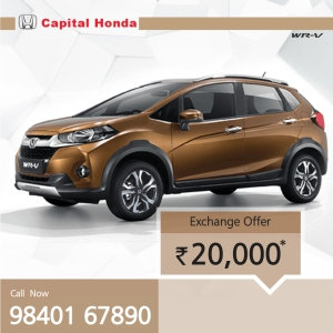 September 2019 offers on new Honda Cars in Chennai | Capital
