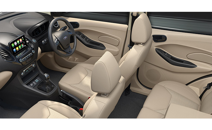 Ford Figo Aspire Interior Photos