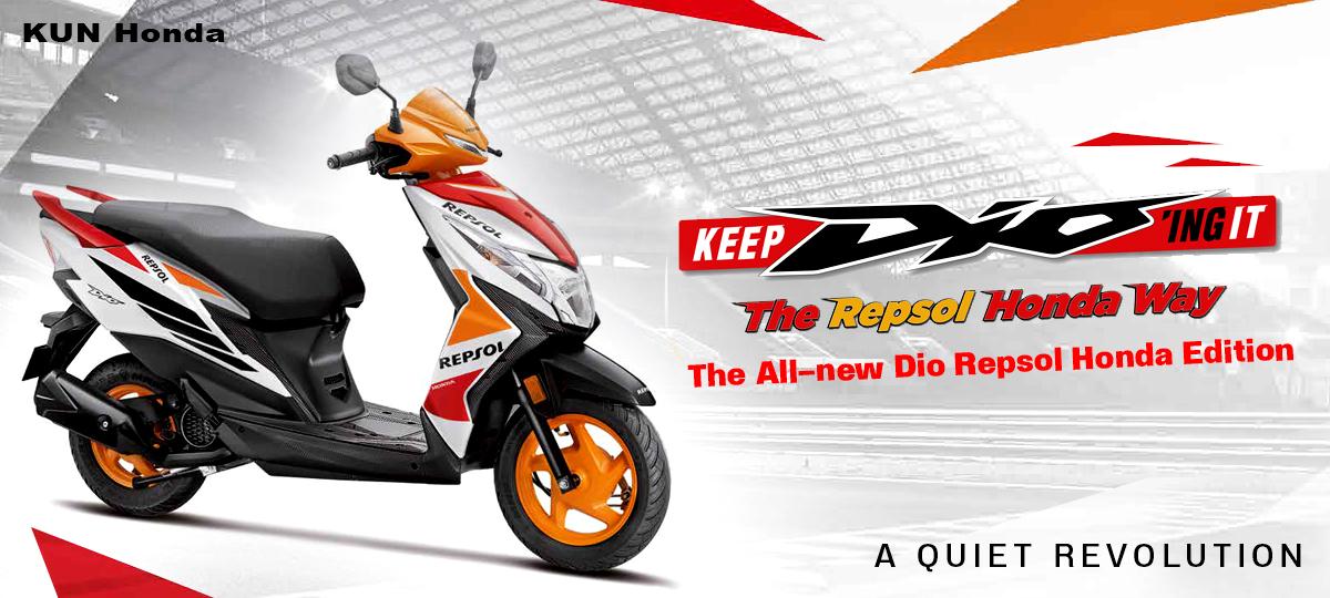 Honda Dio Repsol Edition