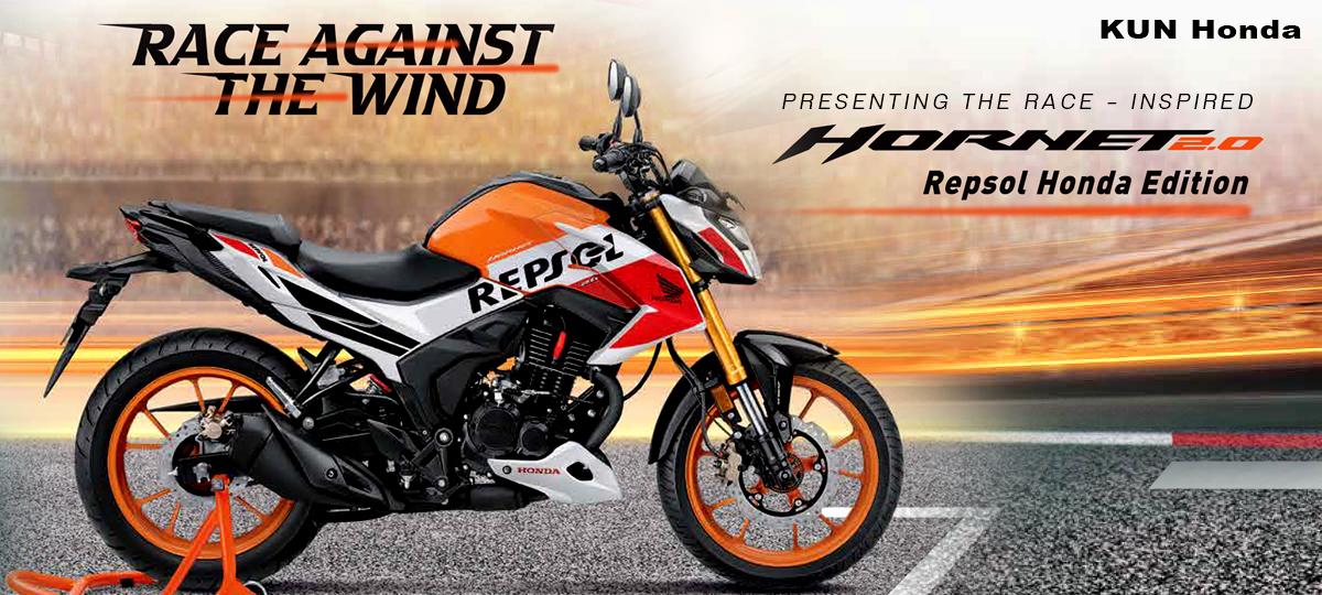 Honda Hornet 2.0 Repsol Edition