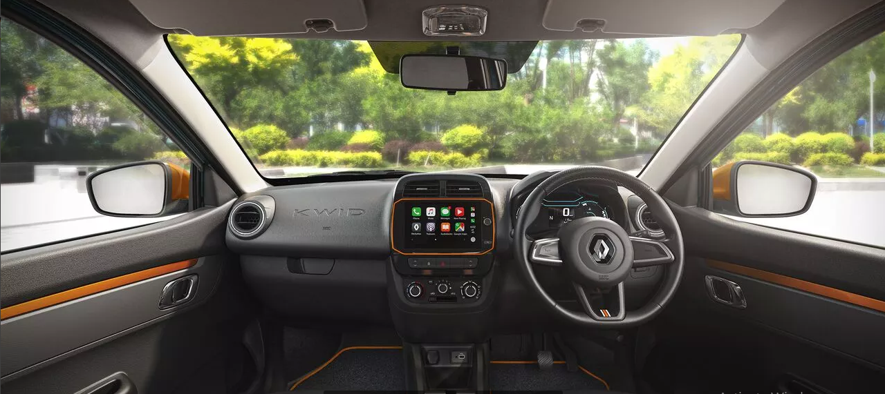 Renault Kwid Interior Images