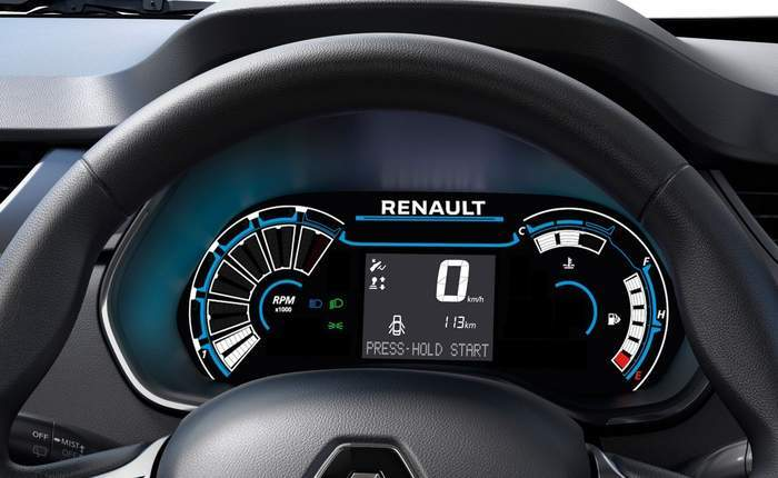 Renault Triber Interior Images